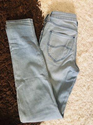 Mid high waist, skinny Jeans von Lee, Grösse 26