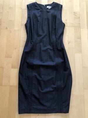 Calvin Klein Robe mi-longue bleu foncé polyester