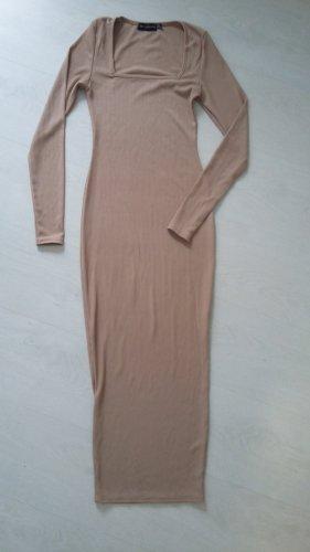 Midaxi Kleid mit Carre Ausschnitt