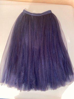 Asos Tulle Skirt grey violet nylon