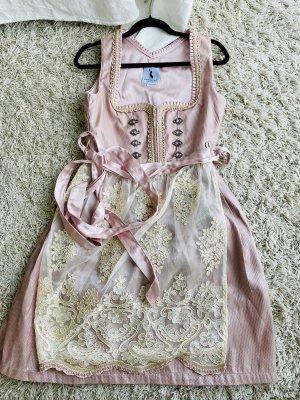 Alpenmärchen Midi-jurk stoffig roze
