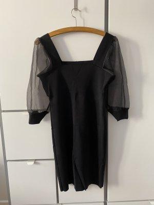 Mango Ołówkowa sukienka czarny