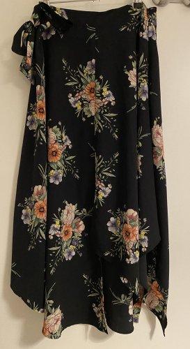 Midi Floral Skirt TOPSHOP