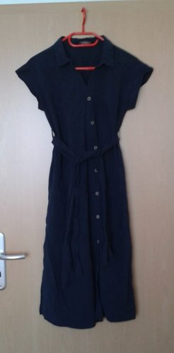 Midi-Hemdblusenkleid von Zara