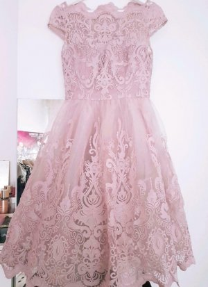 Chi Chi London Evening Dress dusky pink-pink