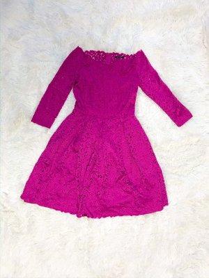 Midi Kleid aus Spitze