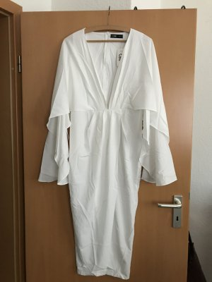 CBR Midi-jurk wit Polyester