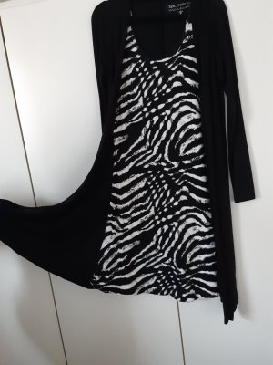 bpc bonprix collection Midi Dress white-black