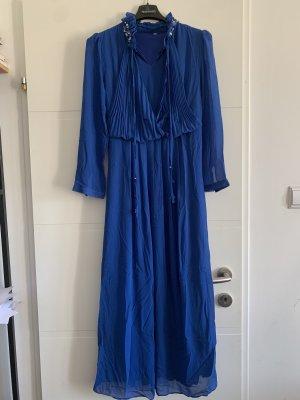 MIDI Kleid in Königsblau 36/38 boho Hippie