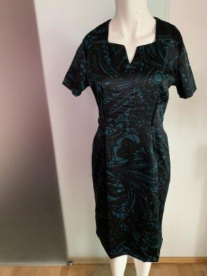 Midi Kleid in Satin Look Gr 38 40 L von Collection London