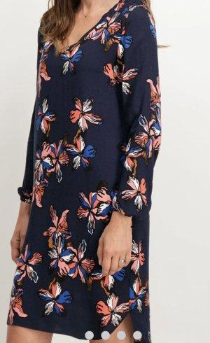 Midi Kleid mit Blumen gr S/M Garcia jeans