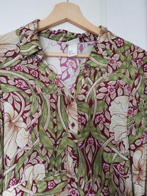 H&M Robe chemise multicolore viscose