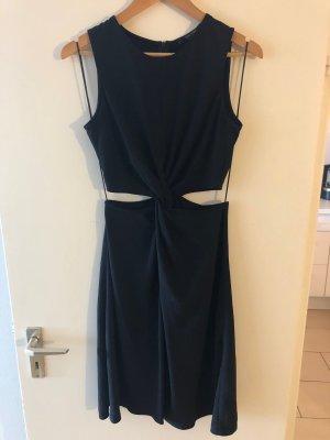 Midi-Kleid mit Cut-outs
