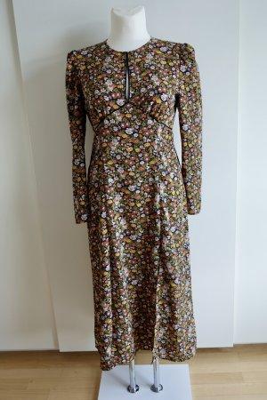 Midi-Kleid mit raffiniertem Ausschnitt