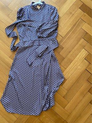 Midi-Kleid mit Retromuster