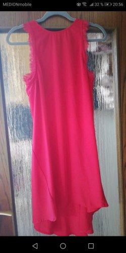 H&M Robe bas asymétrique rouge