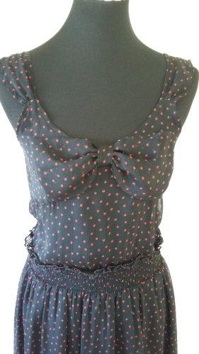 Midi Kleid mit Sternchen print Gr. S von Jaspal, wie neu