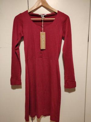 anukoo Robe mi-longue rouge brique