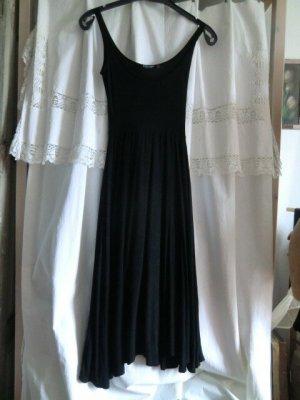 Midi Kleid schwarz Nastygal dress Viskose