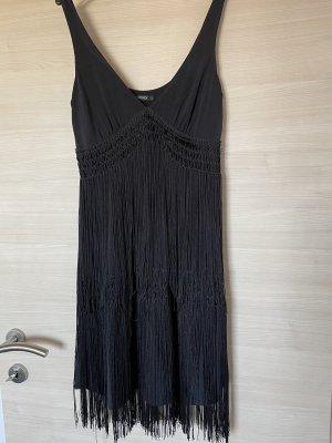Orsay Robe à franges noir