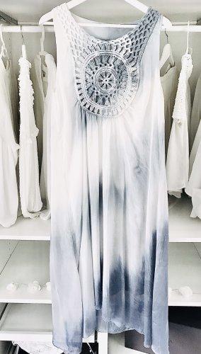 Midi Kleid Seide Batik