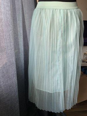 Plisowana spódnica turkusowy-baby blue