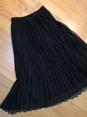 H&M Divided Plaid Skirt black