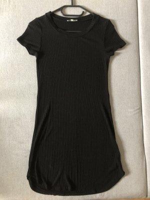 MIDI rib knit dress
