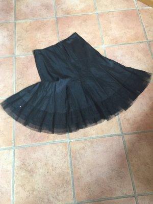 Promod Spódnica z godetami czarny