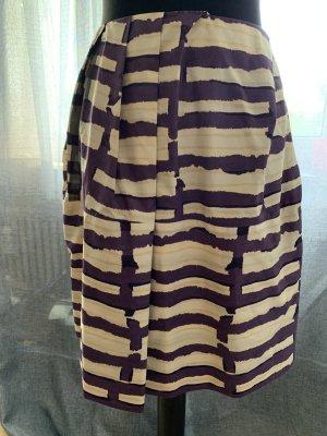 Marni Jupe à plis multicolore coton
