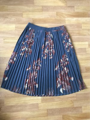 Vila Pleated Skirt multicolored