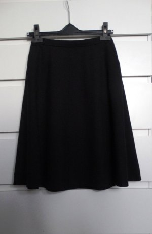 Zara Basic Spódnica midi czarny