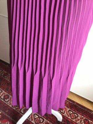 Zara Jupe plissée violet