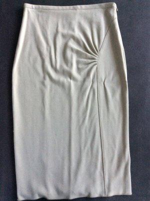 Armani Collezioni Jupe mi-longue gris brun