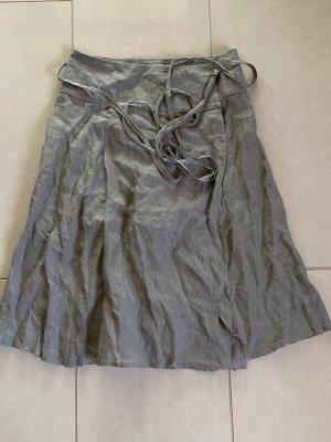 Sarah Pacini Linen Skirt multicolored