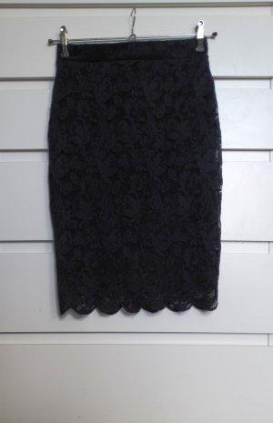 Bodyflirt Falda de encaje negro Poliéster