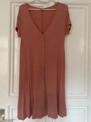 Asos Shirt Dress pink viscose