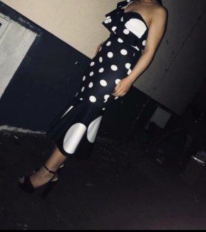 Asos Midi-jurk zwart-wit