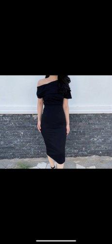 Asos Robe asymétrique noir