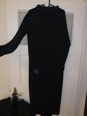 Zara Robe mi-longue noir