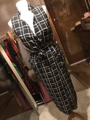 Chilli Midi Dress black-white