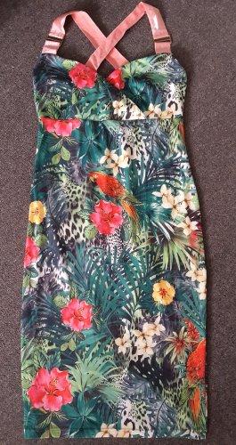 b.p.c. Bonprix Collection Sukienka midi Wielokolorowy