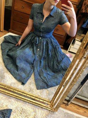 Isabel Garcia Robe avec jupon bleu foncé-bleu clair