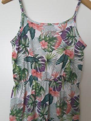 Sukienka plażowa różowy-zielony