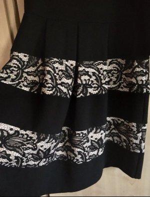 Anna Field Robe mi-longue noir viscose