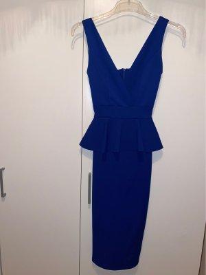 About You Midi-jurk donkerblauw-blauw Polyester