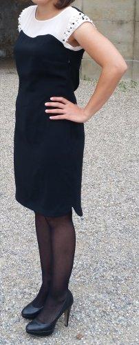 Koton Midi Dress black-white