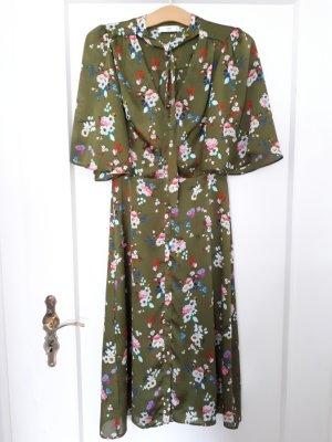 Midikleid Sommerkleid Blumenmuster von Mango Suit