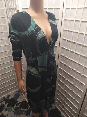 Midikleid Sommerkleid gemustert Retro Expresso L/M