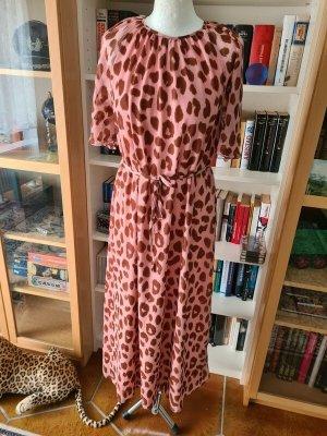 Jacqueline de Yong Midi Dress dusky pink-light brown